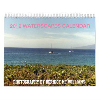 2012 Waterscapes Calendar