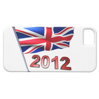 2012 with Britain flag iPhone 5 Cover