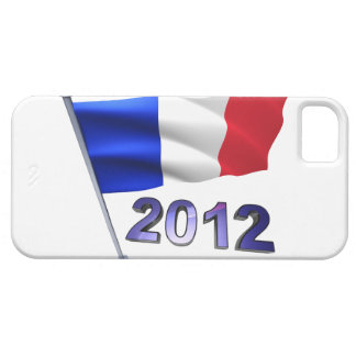 2012 with French flag iPhone 5 Cases