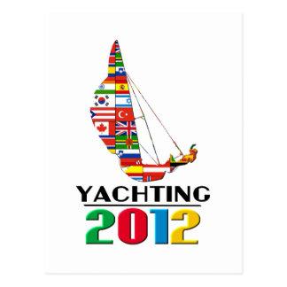 2012: Yachting Postcard