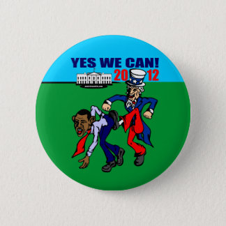 2012 YES WE CAN! 2 INCH ROUND BUTTON