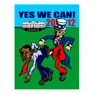 2012 YES WE CAN! POSTCARD