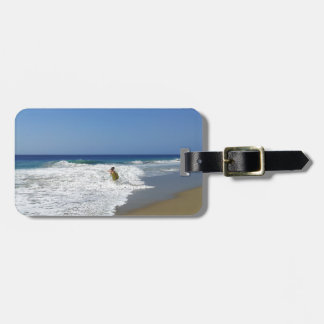 20130215 BODYBOARDING BOGGIEBOARDING SOSUA BEACH O TAG FOR LUGGAGE