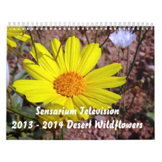 2013 - 2014 Desert Wildflowers Wall Calendar