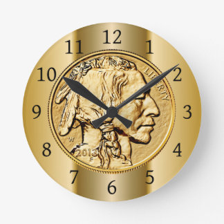 2013 American Buffalo Gold Coin ~ Native American Round Clock
