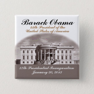2013 Antique Inauguration 2 Inch Square Button