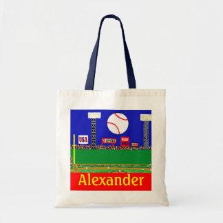 2013 Back to School Kids Baseball Book Bag Gift