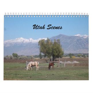 2013 Calendar Of Scenic Spots In Utah