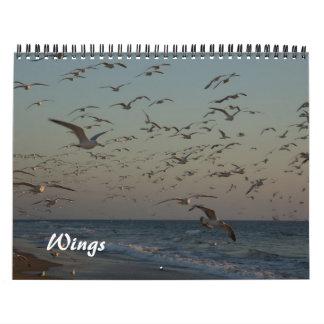 2013 Calendar - Wings