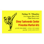 2013 Fall TKD card Business Cards
