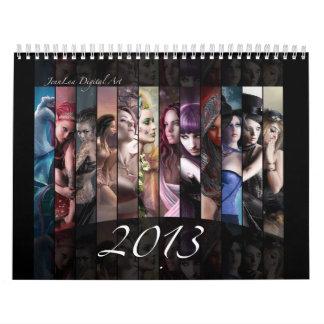 2013 Fantasy Calendar