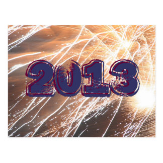 2013 Fireworks Post Card