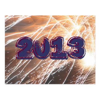 2013 Fireworks Postcard