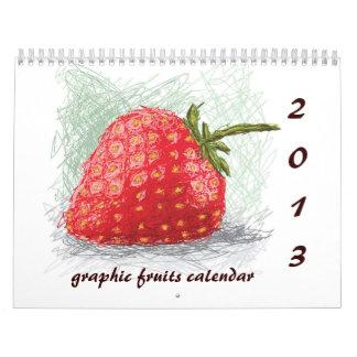 2013 fruits calendar I
