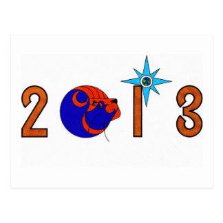 2013 Logo Postcard