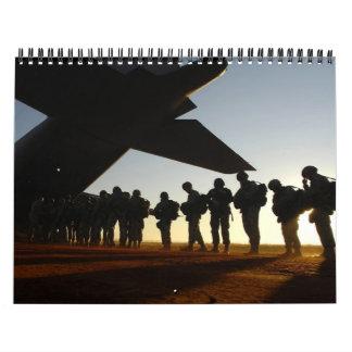 2013 Military Silhouettes Calendar