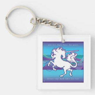 2013 Mink Gizmo Inspirational Unicorn Keychain