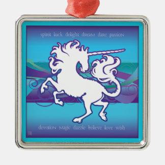 2013 Mink Holidaze Inspirational Unicorn Ornament