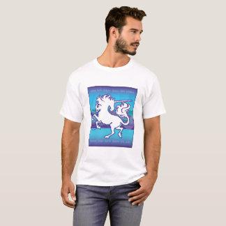 2013 Mink Mode Inspirational Unicorn Men's White T-Shirt
