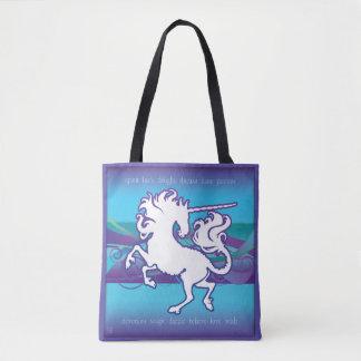 2013 Mink Tote Inspirational Unicorn Tote
