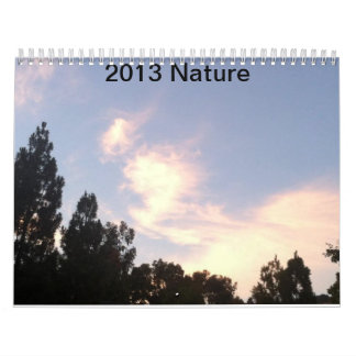 2013 Nature calendar by CCandLexi