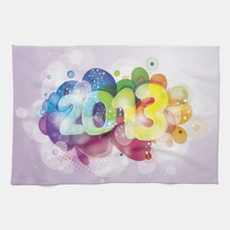 2013  New Year Kitchen Towel