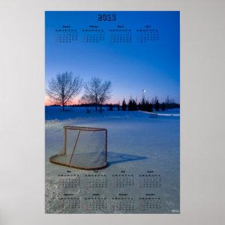 2013 NHL Lockout Calendar Poster