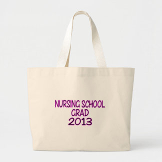 2013 Nursing School Grad Large Tote Bag
