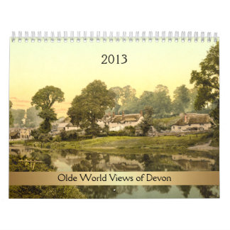 2013 Olde World Views of Devon Calendars