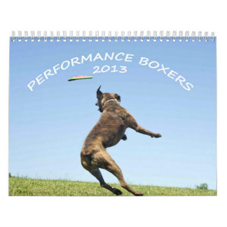 2013 Performance Boxer Calendar