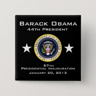 2013 Presidential Inauguration 2 Inch Square Button