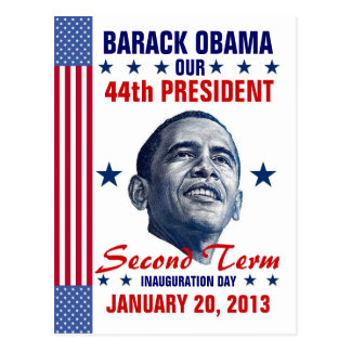 2013 Presidential Inauguration Postcard