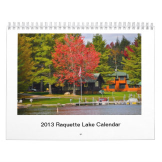2013 Raquette Lake Calendar