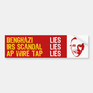 2013 Summer of Scandal Bumper Stickers