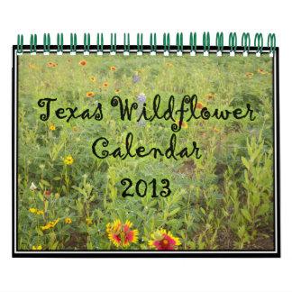 2013 Texas Wildflower Calendar