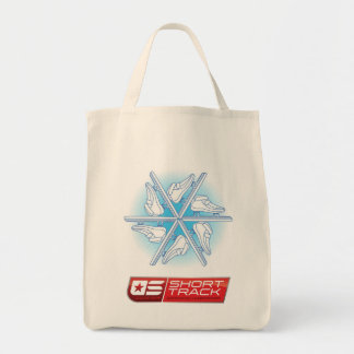 2013 US Jr ST Speedskating Champs Grocery Tote Grocery Tote Bag