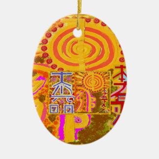 2013 ver. REIKI Healing MASTER Symbols Christmas Ornament