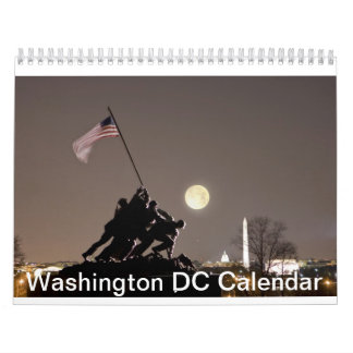2013 Washington DC Calendar