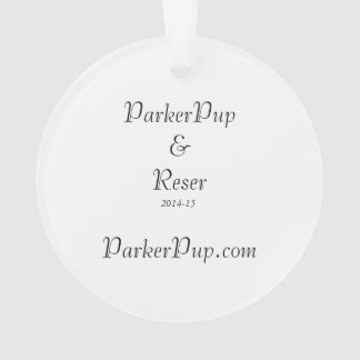 2014-15 ParkerPup & Reser Ornament