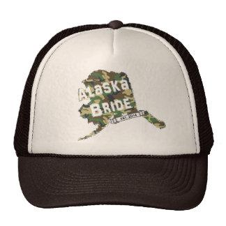 2014 AK Bride Map Trucker Hat in Camo