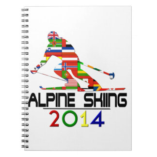 2014: Alpine Skiing Spiral Notebooks