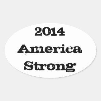 2014  America Strong Sticker