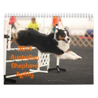 2014 Australian Shepherd Agility Calendar