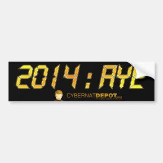 2014:AYE Yellow Bumper Sticker