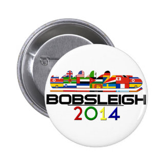 2014: Bobsleigh 2 Inch Round Button