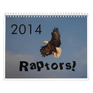 2014 calendar raptors Fort Collins Colorado
