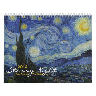 2014 Calendar: Starry Night - The Art of Van Gogh Wall Calendars