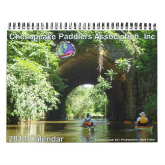 2014 Chesapeake Paddlers Association Calendar