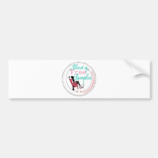 2014 Closet Samples Logo Bumper Sticker