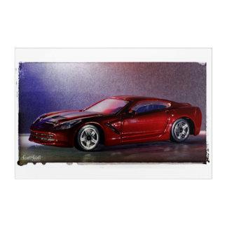 2014 Corvette Stingray Acrylic Wall Art